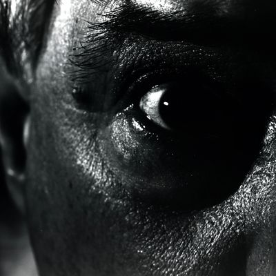 As I See It was created as an exercise in macro self-portraiture. The subject is my left eye, my be