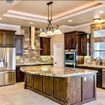 Million Dollar Chef Luxury Kitchen Stone Granite