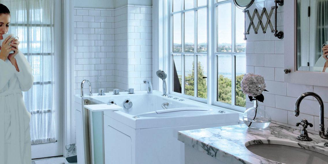 Aging in the Comfort of Home - Walk in Bathtubs, Walk in Showers ...