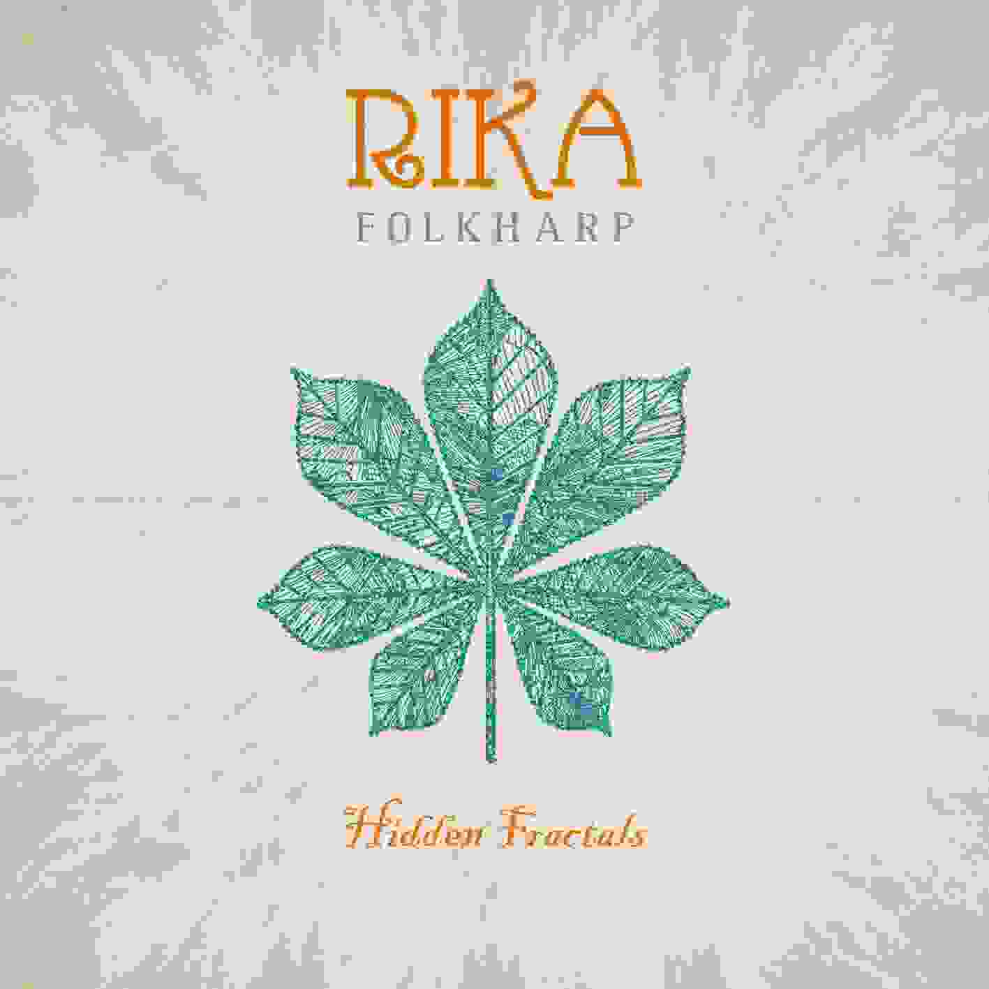 Rika folkharp Hidden Fractals CD Cover front