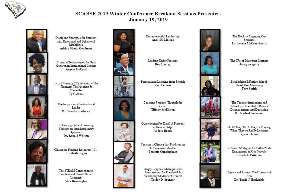 Winter Conference | South Carolina Alliance of Black School Educators