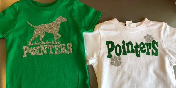spirit wear, custom Tshirts, pointers tshirts, southside tshirts, custom gifts, embroidery, school