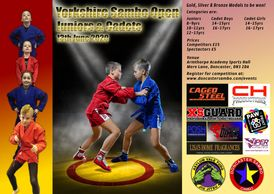 Yorkshire Sambo Open Championships for Juniors and Cadets.  Ages 8-17 years.