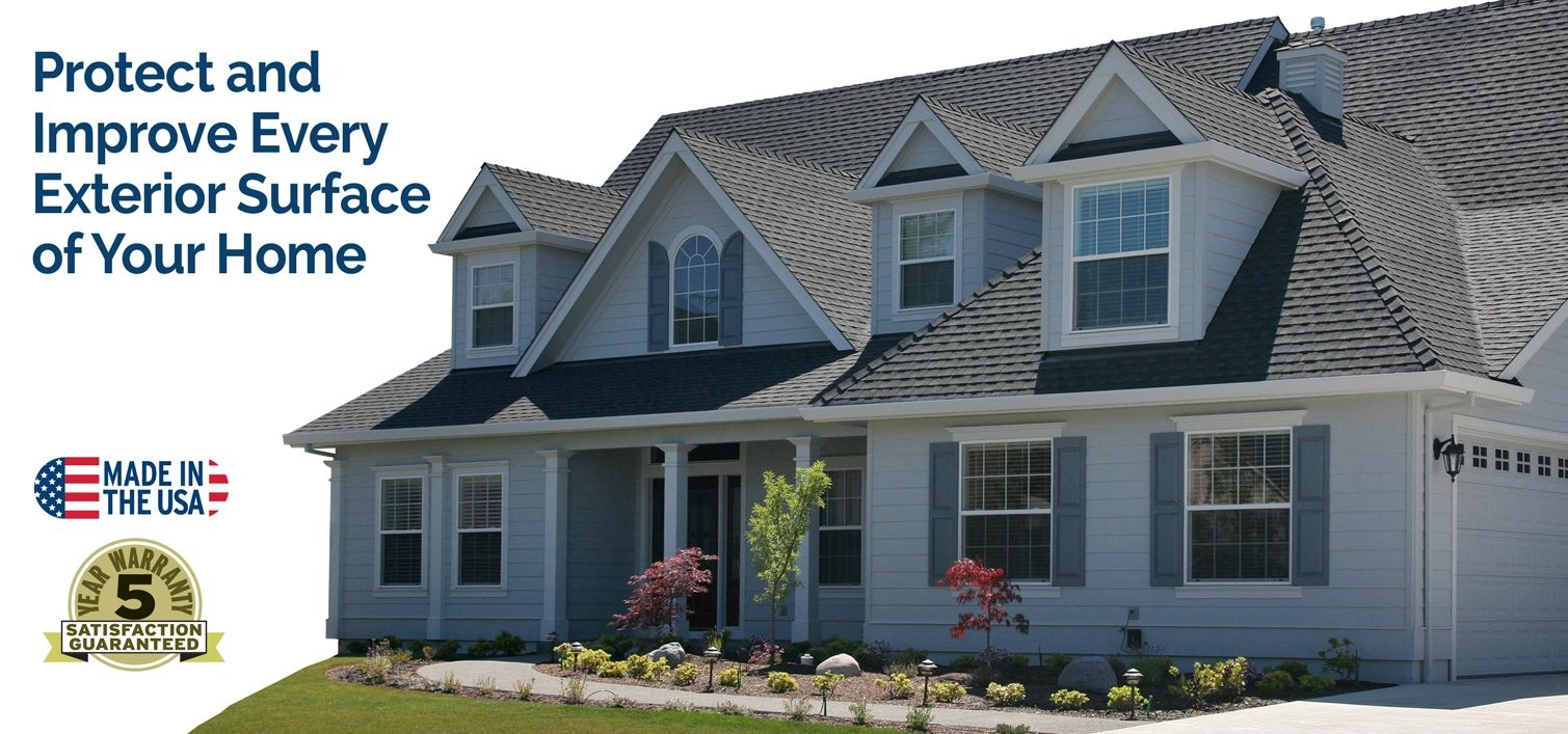 Brite Coatings protect and enhance every surface of your home.