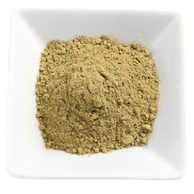 Organic Kratom - Bali Kratom Powder in a White Bowl display image for the All About Kratom page.