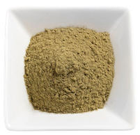 Organic Kratom - Thai Kratom Powder in a White Bowl display image for the All About Kratom page.