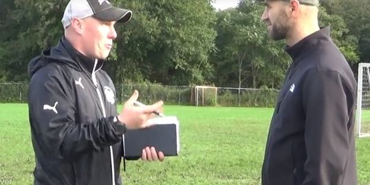 Coach Developer Gerard Jones, grassroots soccer coaching