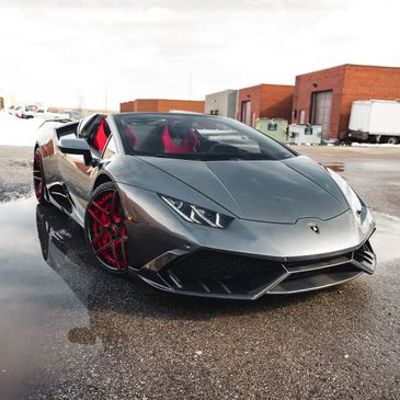 Lamborghini Huracan Protected with Xpel Ultimate Plus by Toronto Paint Protection Film.