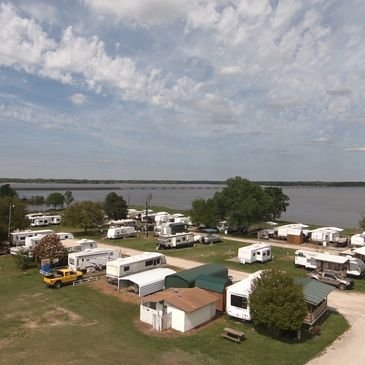 lake fork rv parks with annual rv spots on the water