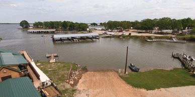 lake fork boat ramps at pope's landing marina