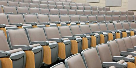 Fixed Seating, Auditorium Seating, Theater Seating, New Jersey Auditorium Project, Auditorium