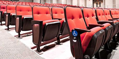 Auditorium Seating, Theater Seating, Fixed Seating, Auditorium Projects, Theater Projects