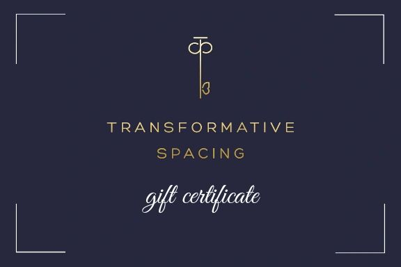 Gift Cards available for online purchase towards design services and retail.