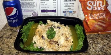 Faye's home-made Chicken Salad