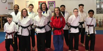 Our current instructors in training,