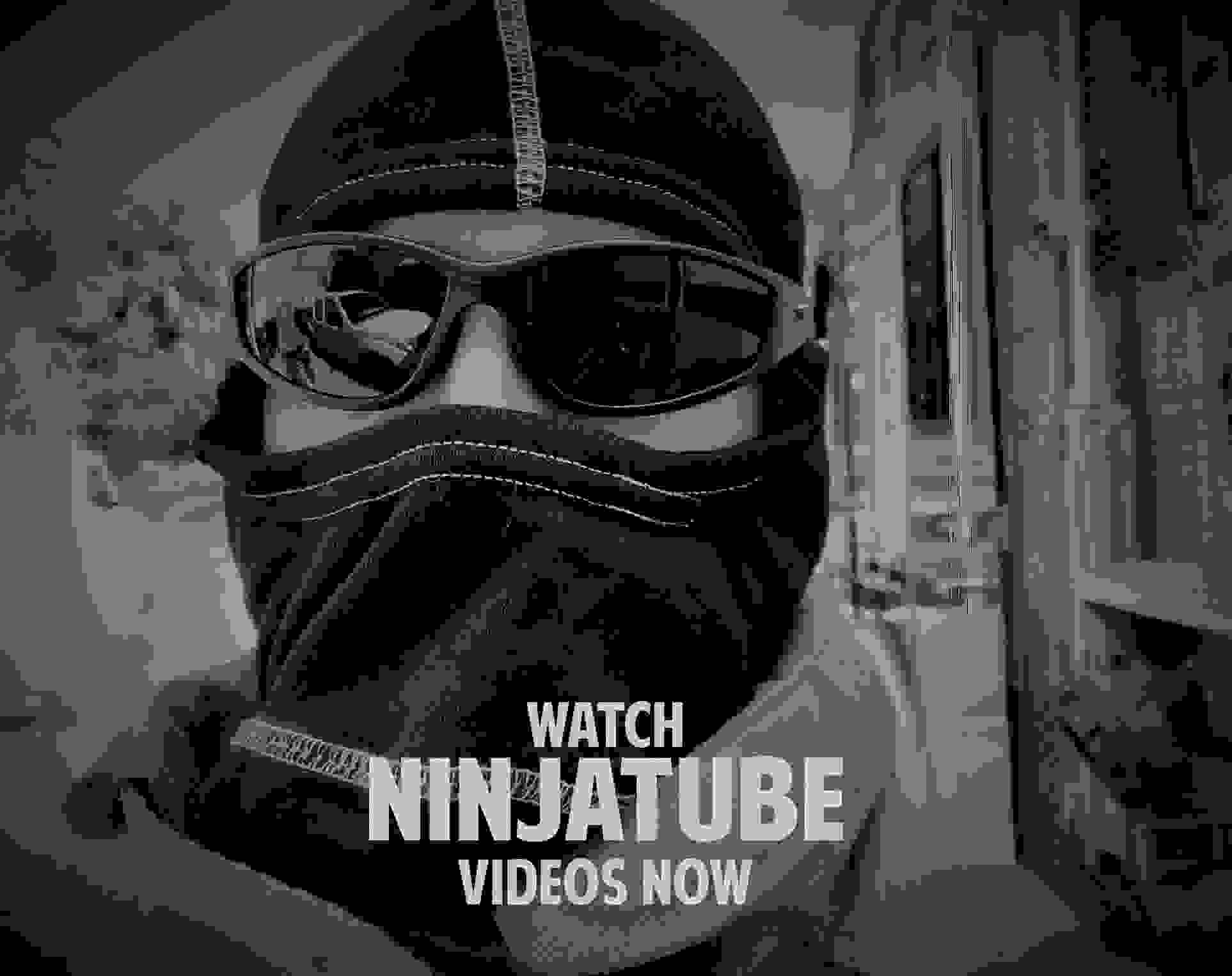 FIRE NINJA WITH ULTRAFLEX EYEWEAR - NINJATUBE