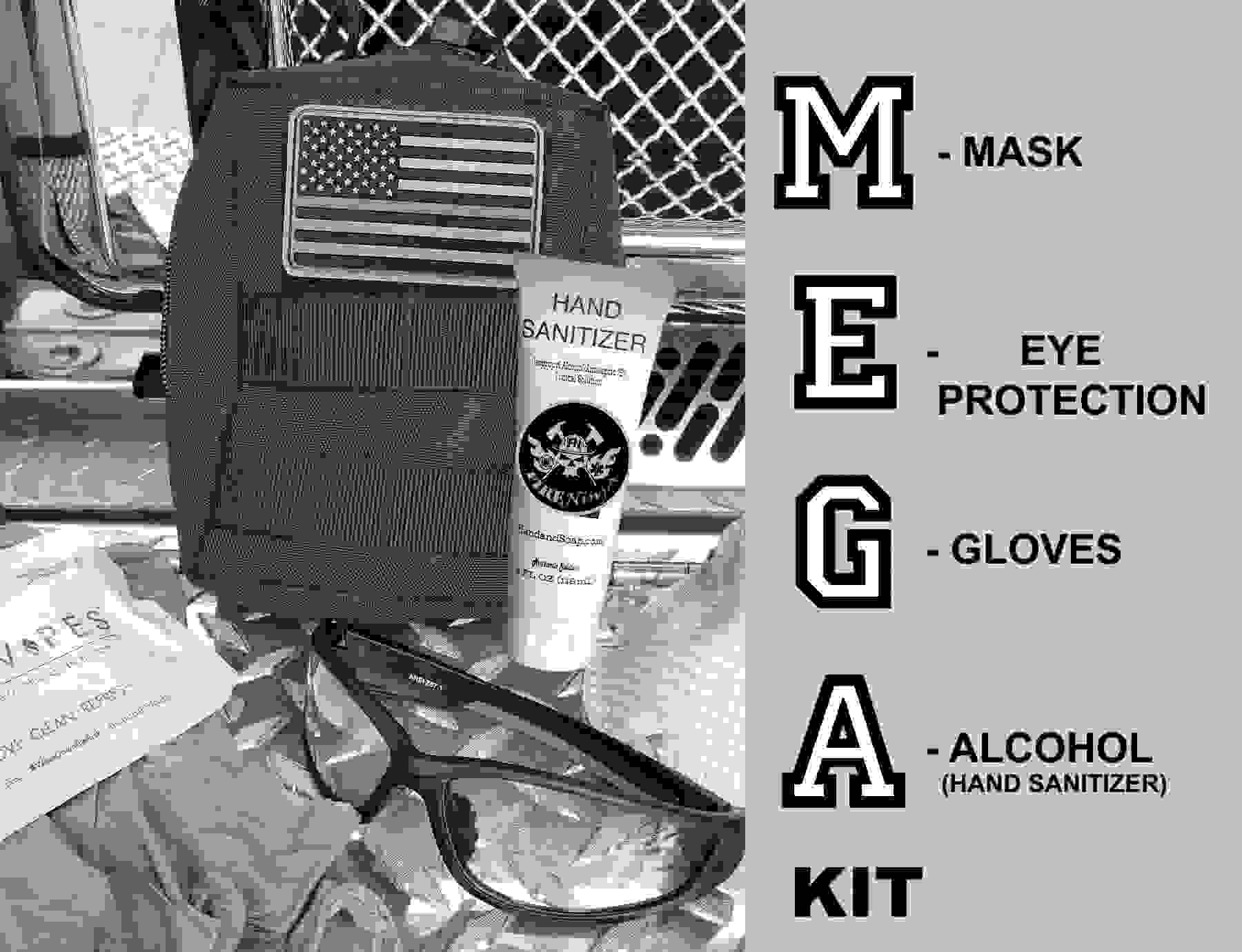 M.E.G.A. Personal Protective Equipment Kit