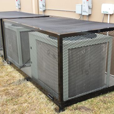 AC cages enclosure