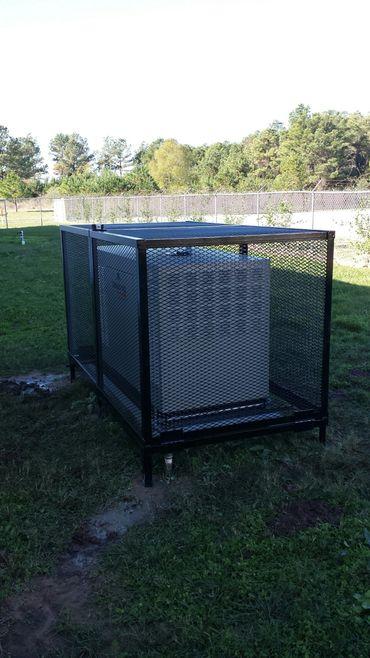 Gorilla Manufacturing Generator Cages Enclosures