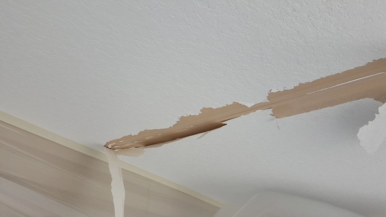 How To Repair Drywall Fixing Peeling Drywall Tape From Drywall