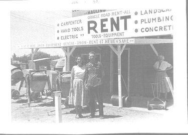 oracle road rent-all 1957