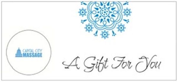 Capital City Massage Gift Certificates