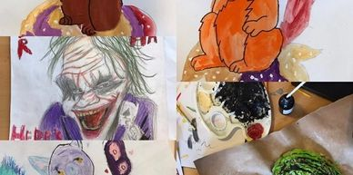 kids art class, kids clubs swindon, mums & toddlers arts & crafts, kids holiday activities children, home education swindon, home ed swindon, home education arts, arts for children, mams gallery,