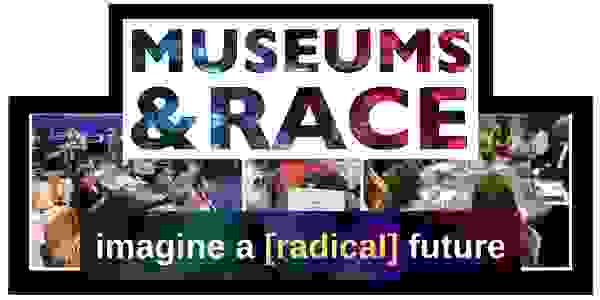 The Museums & Race logo showing the words, Imagine a Radical Future.