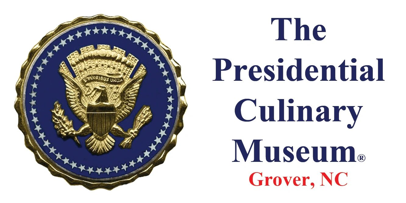 The seal and sign of the US Presidential Culinary Museum.