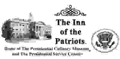 A logo of The Inn of the Patriots in Washington, DC.