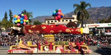 pasadena tournament rose parade bandfest equestfest southern california los angeles