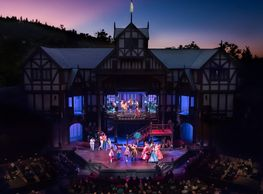 Oregon shakespeare festival ashland play musical tour southern medford theater theatre outdoor