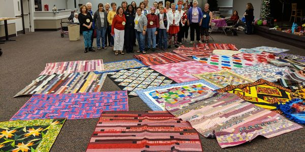 Quilts for the Jacson ille Sheriff's Child Welfare Unit