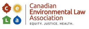 Logo and link for Canadian Environmental Law Association
