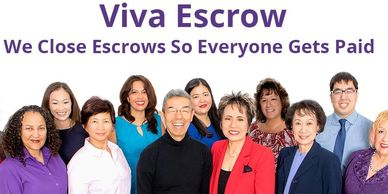 Viva Escrow, Vanessa James, Villa Home Inspections recommended