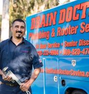 Joe Castro, Drain Doctor Covina, complete plumbing service throughout the San Gabriel Valley