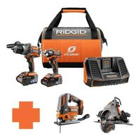 Get Two Select Tools FREE When You Buy This RIDGID OCTANE 18Volt Cordless  Combo Kit. Now only $349!