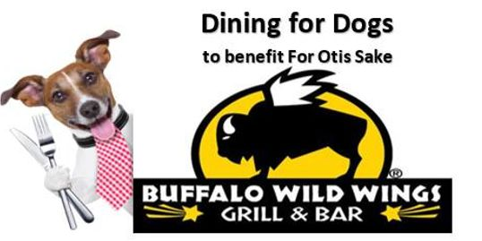 Dining for Dogs Logo: Buffalo Wild Wings