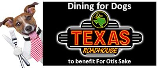 Dining for Dogs: Texas Roadhouse image