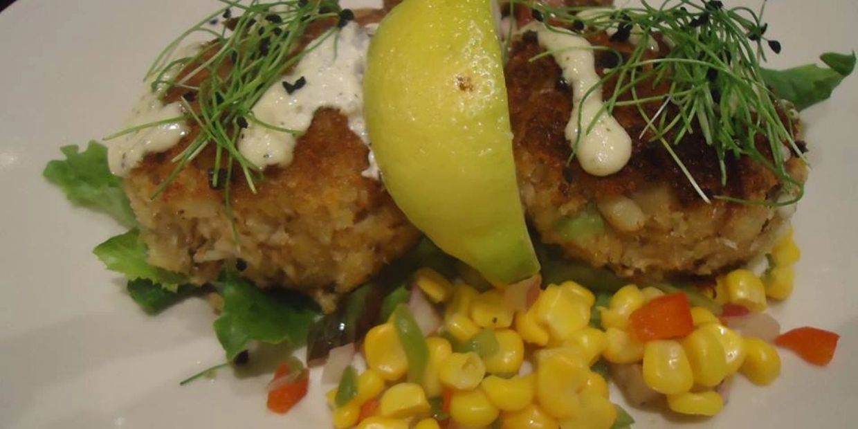 A chef's delight using leeks microgreens with the main dinner dish.