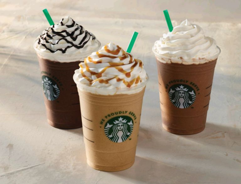 Delicious Coffee Frappacino