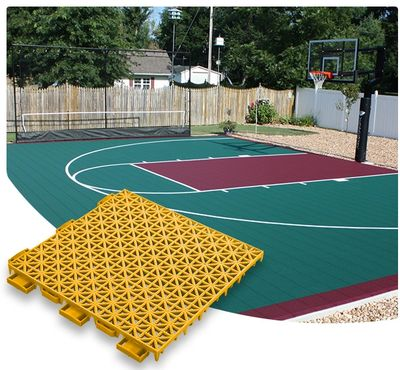 VersaCourt modular snap Sport Courts creates a colorful durable court option for new or existing court refurbishings or upgrades.