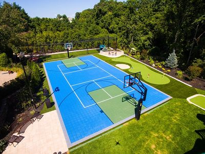 VersaCourt modular snap Sport Courts are a perfect solution for residential, educational and parks and playground applications.  Cost effective, customizable, durable and easy to maintain.