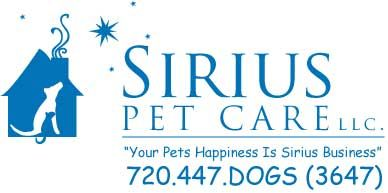 Sirius Pet Care, Professional Pet Sitting Services, Dog Walks | Westminster - Arvada - Broomfield CO
