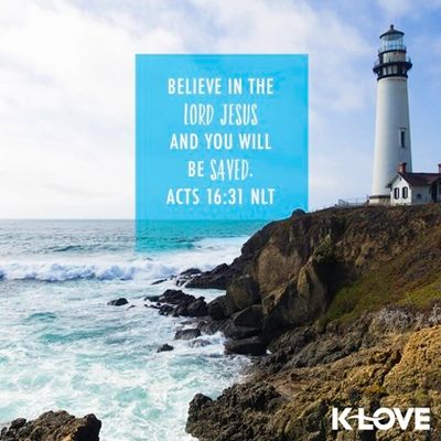 Believe in the Lord Jesus and you will be saved. Acts 16:31 Florida Paradise Villas Christian travel agent and Promise of Paradise blog homeschool curriculum, Christian movies, music, books, t-shirts