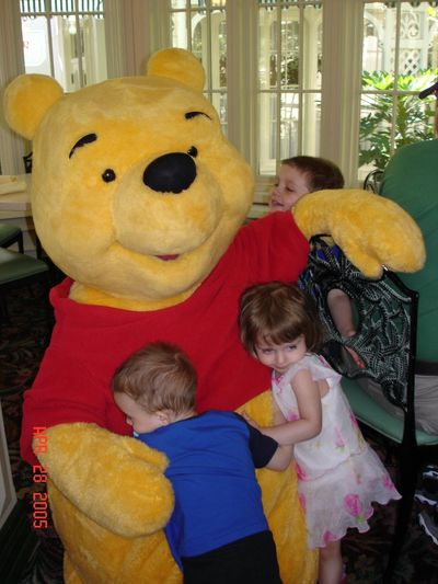 Crystal Palace with Pooh character dining Orlando Disney World Magic Kingdom Character breakfast, reservations and packages by Florida Paradise Villas