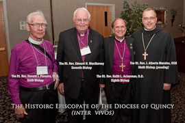 4 Bishops of the Diocese of Quincy