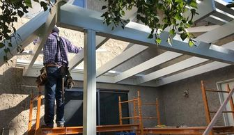 Patio Cover Installation, Contractor, Lattice Cover, Patio Cover in CORONA