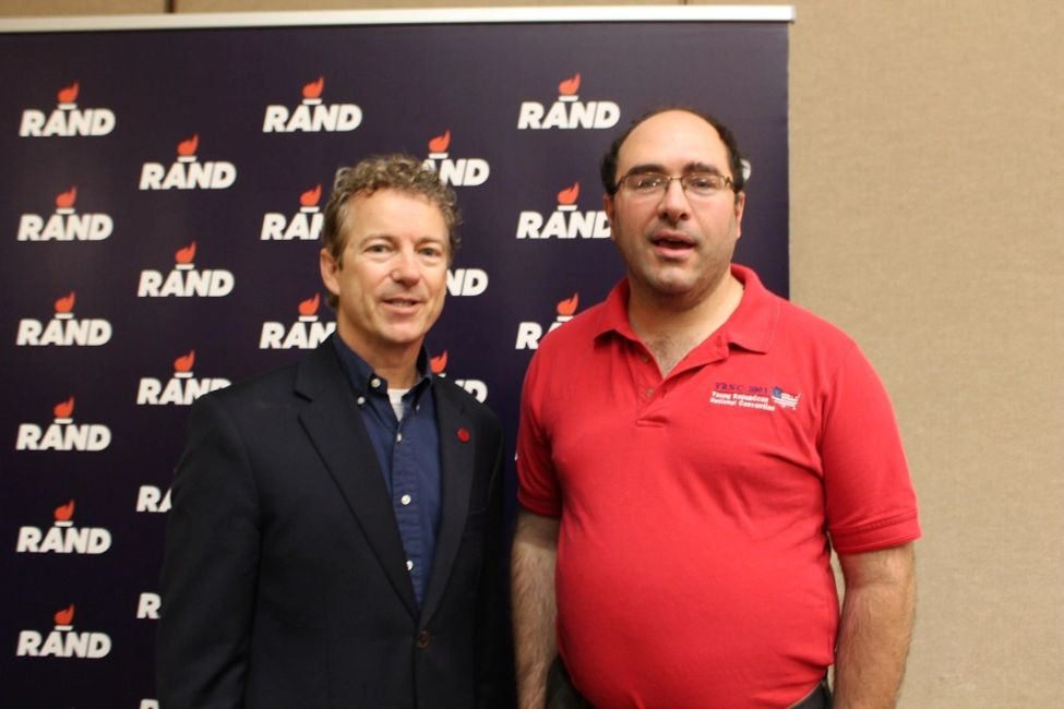 Jonathan Ring met Kentucky Senator and former presidential candidate Rand Paul.