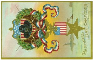 Grand Army of the Republic Memorial Day postcard